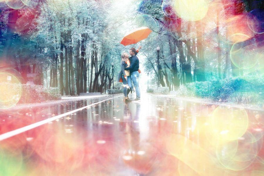 سری جدید عکس هاب با کیفیت HD عاشقانه زیر باران (۲۰۱۹)