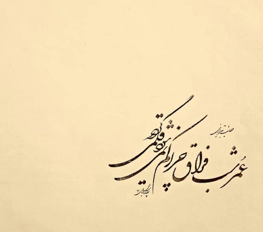 اشعار صائب تبریزی با موضوع (عرفان | بهشت و جهنم | دوست | مادر)