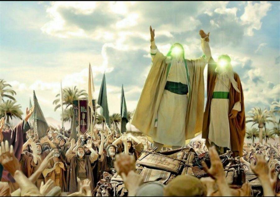 متن های زیبا و پرطرفدار مولودی و مدیحه عید غدیر خم از میثم مطیعی