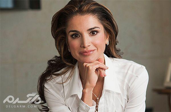 10 زن زیبا و پولدار مسلمان - رانیا، ملکه اردن