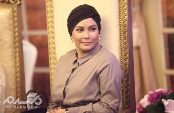 10 زن زیبا و پولدار مسلمان - سلطانا نور زهیرا