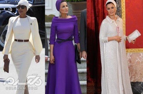 10 زن زیبا و پولدار مسلمان - مزاح بن ناصر ال مسند