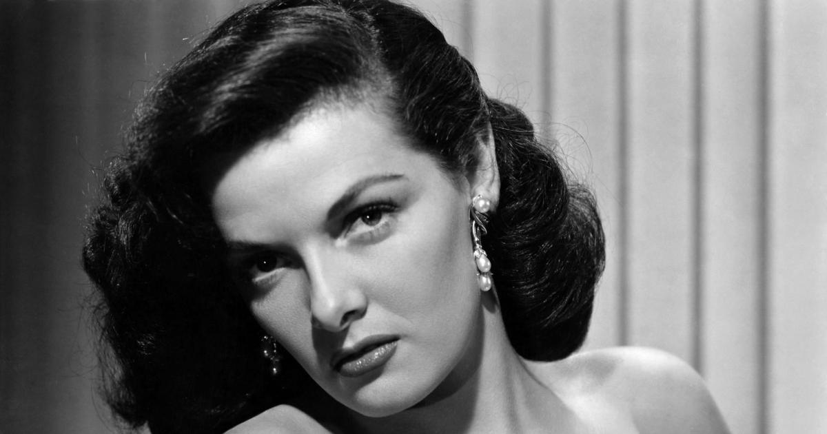 جین راسل، بازیگر زیبا و افسانه ای دهه ۴۰ میلادی
