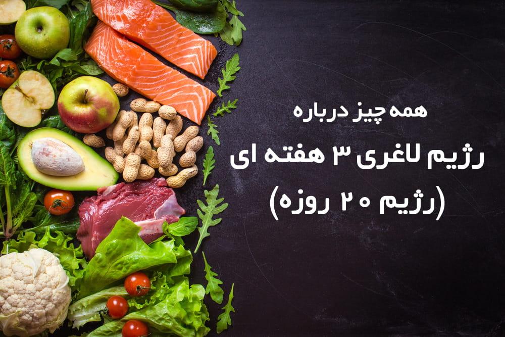 رژیم لاغری ۳ هفته ای: در ۲۱ روز وزن خود را کاهش دهید!