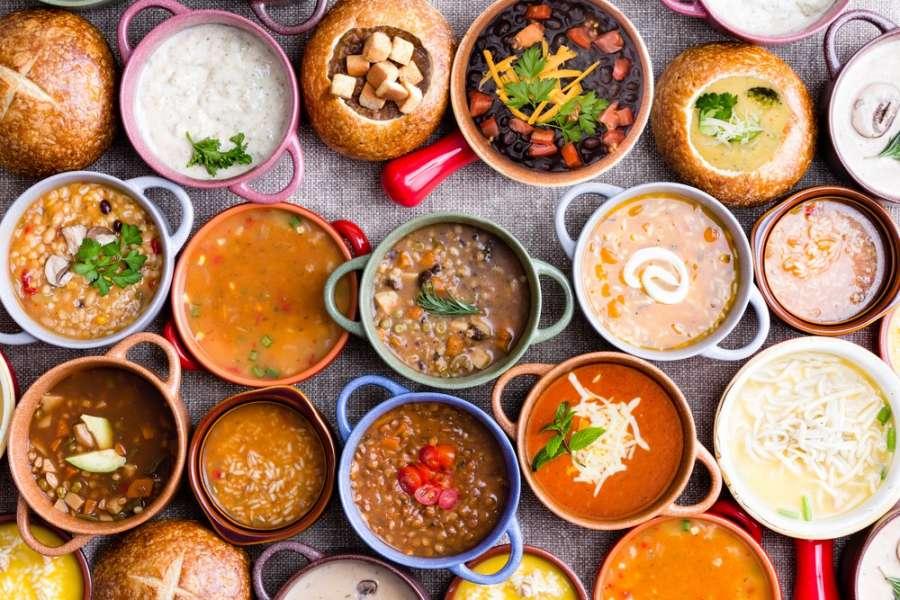 سوپ لاغری: دستور تهیه ۳۵ نوع سوپ برای کاهش وزن و لاغری