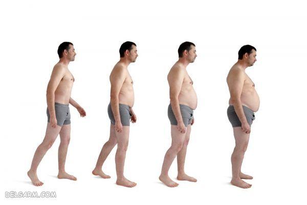 افزایش وزن ، چاقی