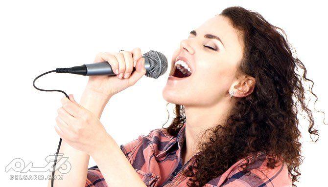برای رسیدن به سلامتی با صدای بلند آواز بخوانید