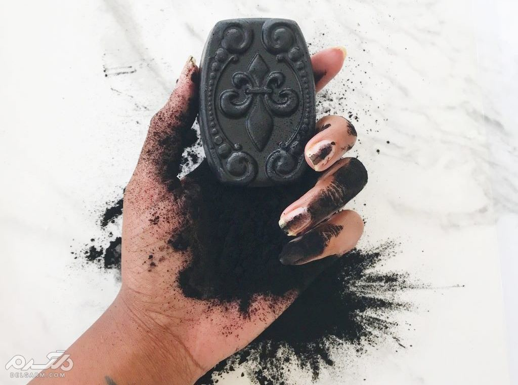 خواص شگفت انگیز صابون زغال