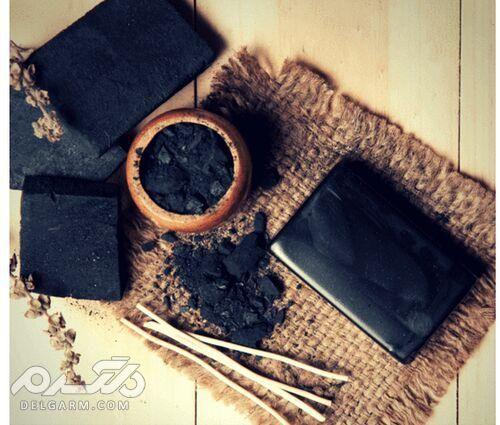خواص صابون ذغال برای پوست