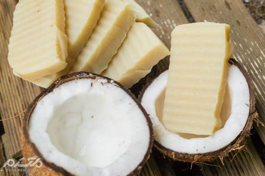 صابون نارگیل برای درمان آلرژی و عفونت های پوستی