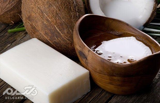 فواید صابون نارگیل برای درمان مشکلات پوستی و ریزش مو