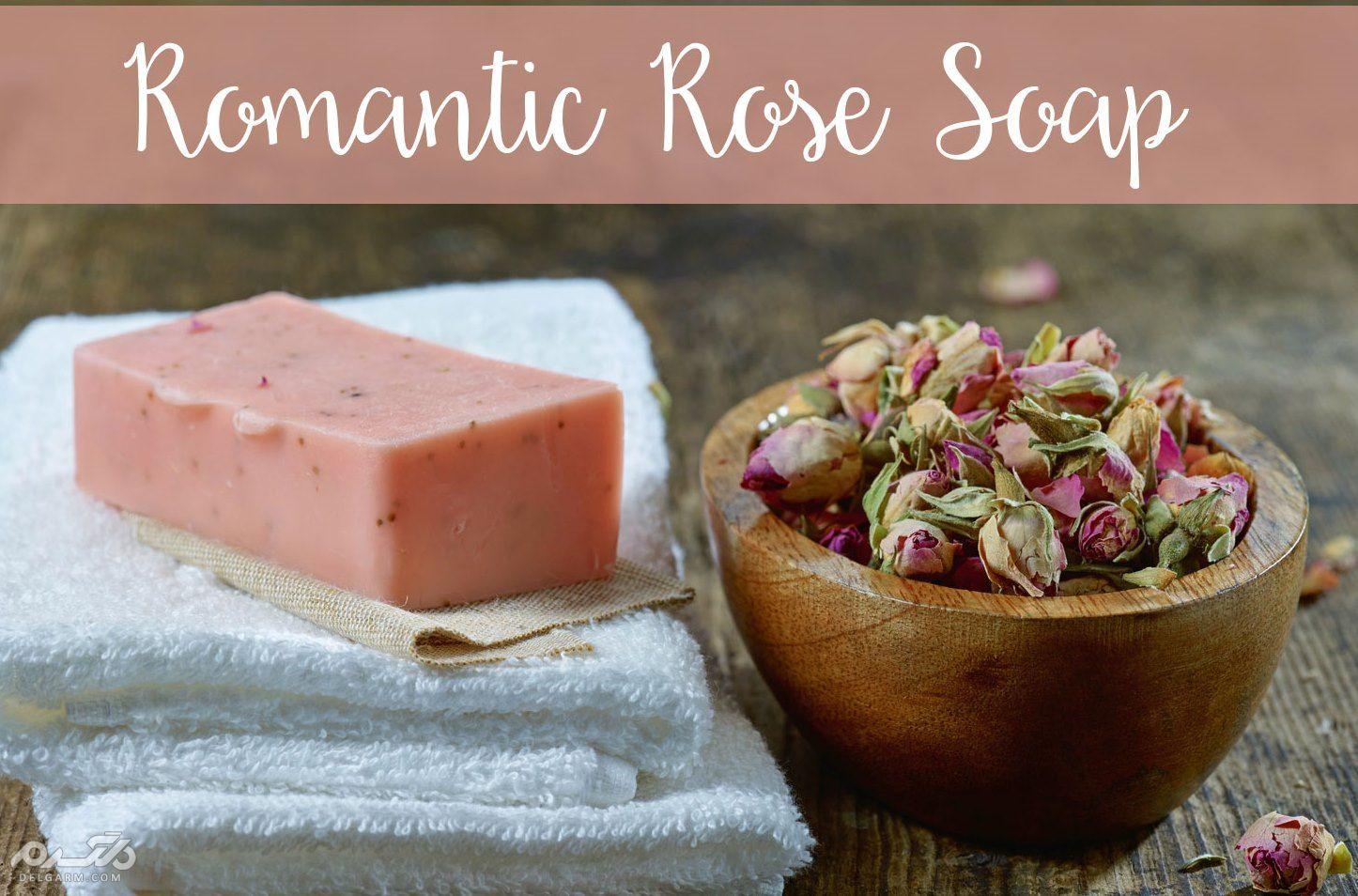 صابون گل رز برطرف کننده لکه های پوست