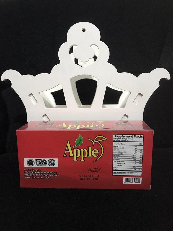 فواید مصرف پودر چاقکننده اپل (apple)