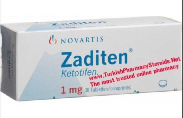 موارد مصرف و عوارض قرص زادیتن (Zaditen)