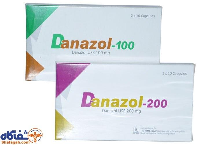 موارد مصرف و عوارض قرص دانازول (Danazol)