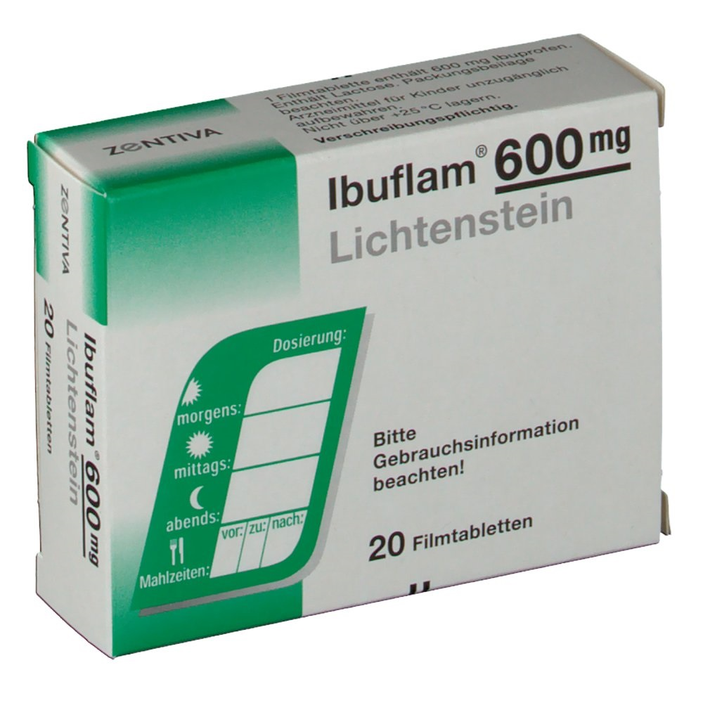 همه چیز در مورد قرص مسکن ایبوفلیم (Ibuflam)