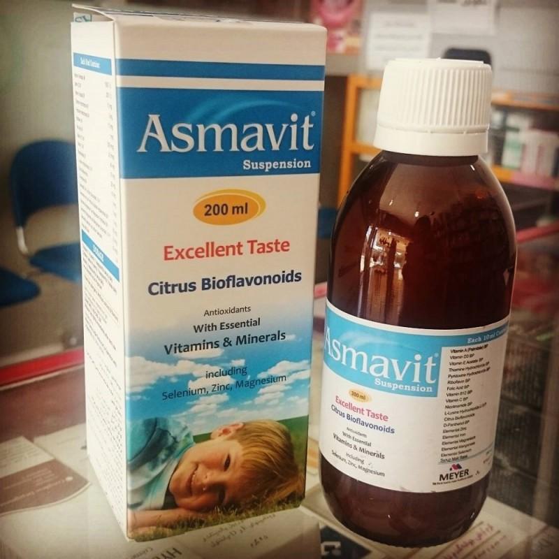 همه چیز در مورد شربت آسماویت (Asmavit)
