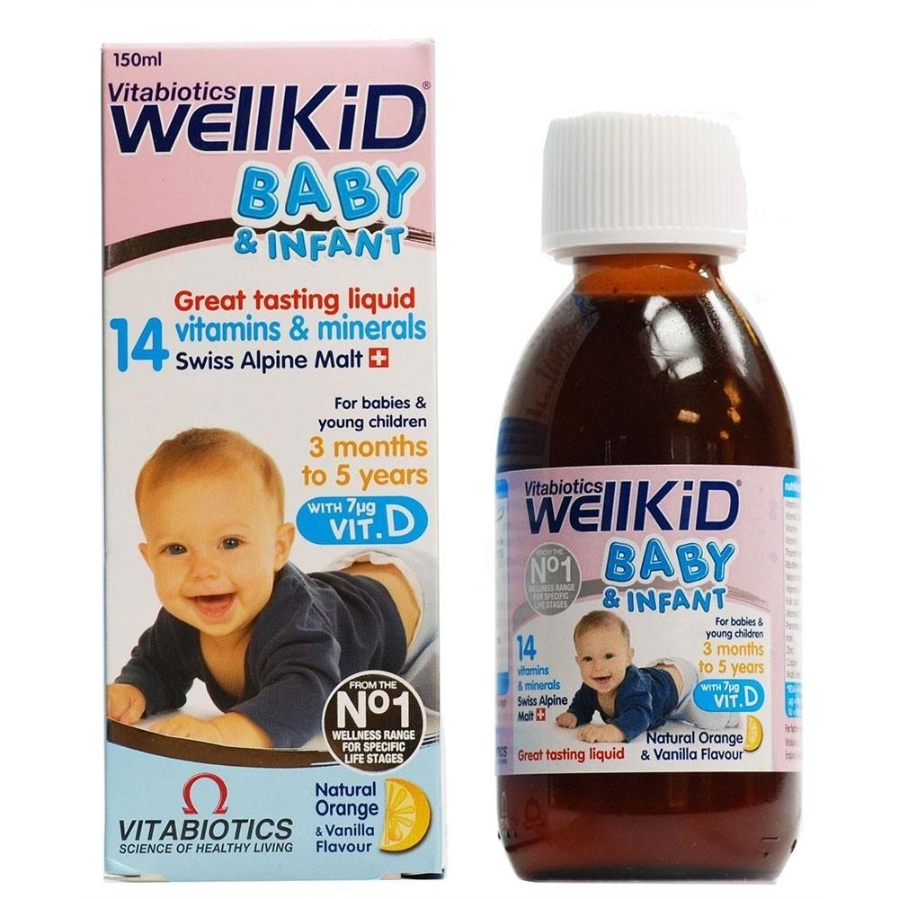 آشنایی با شربت تقویت کننده ول کید بیبی (Well Kid Baby Syrup)