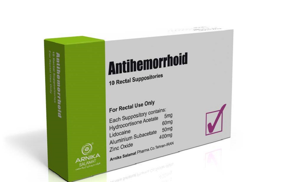 آشنایی با موارد مصرف شیاف آنتی هموروئید