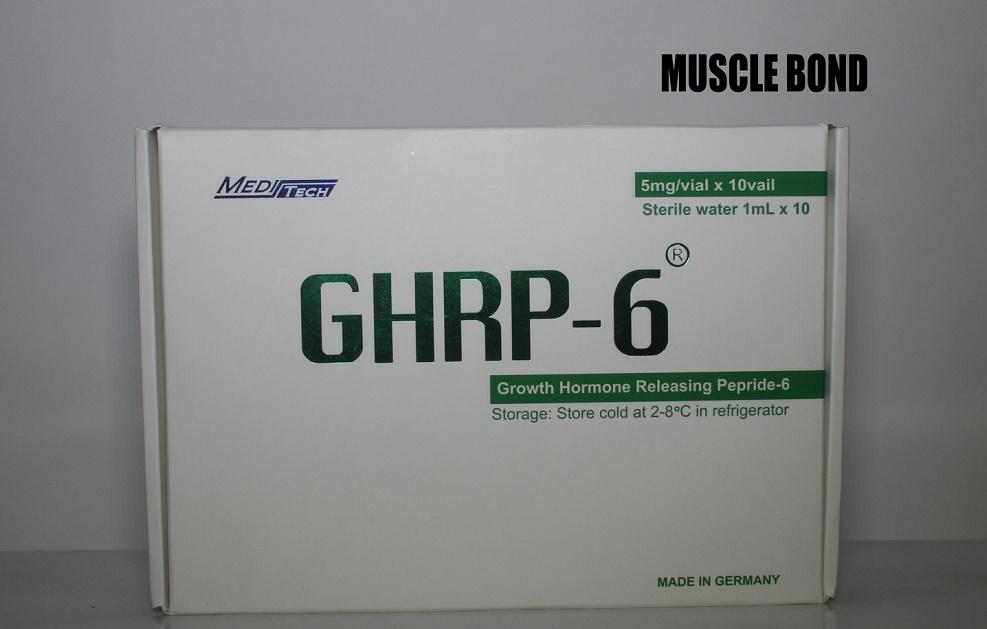 معرفی مکمل جی اچ آر پی ۶ (GHRP-۶)