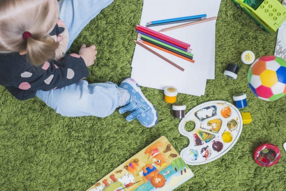 تقویت حواس پنجگانه کودکان با چند بازی ساده!