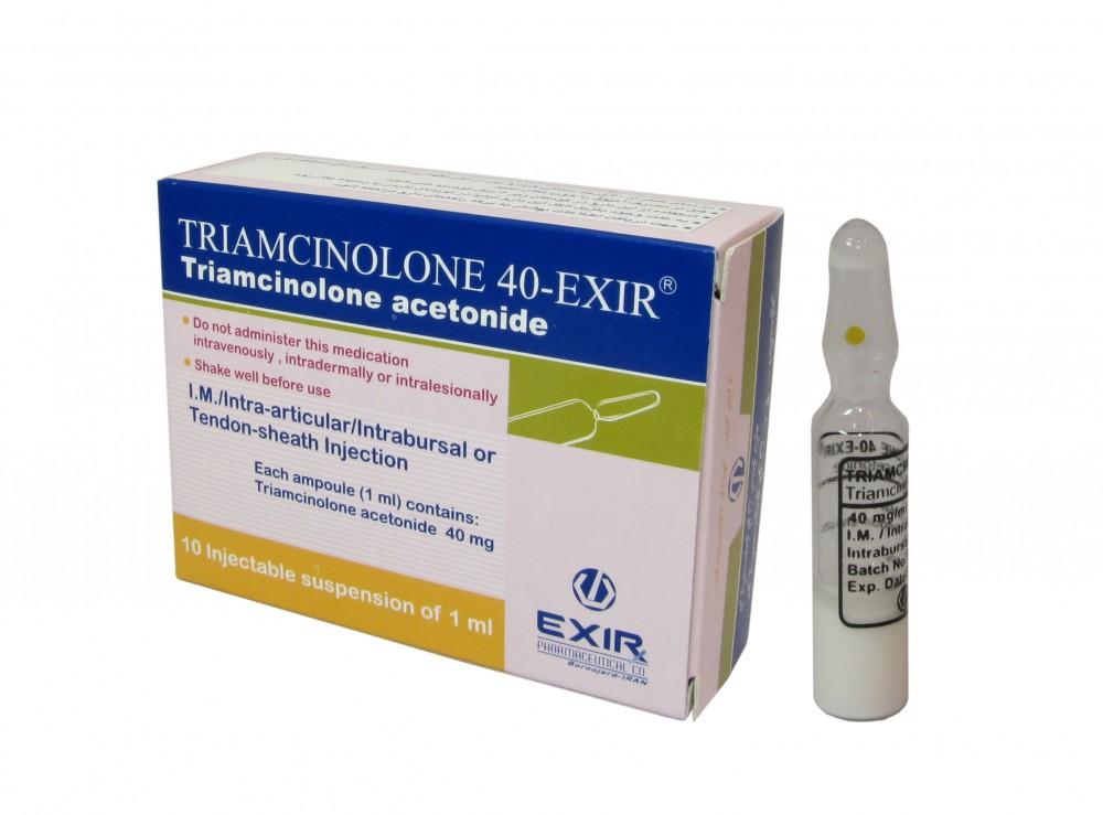 موارد تزریق تریامسینولون