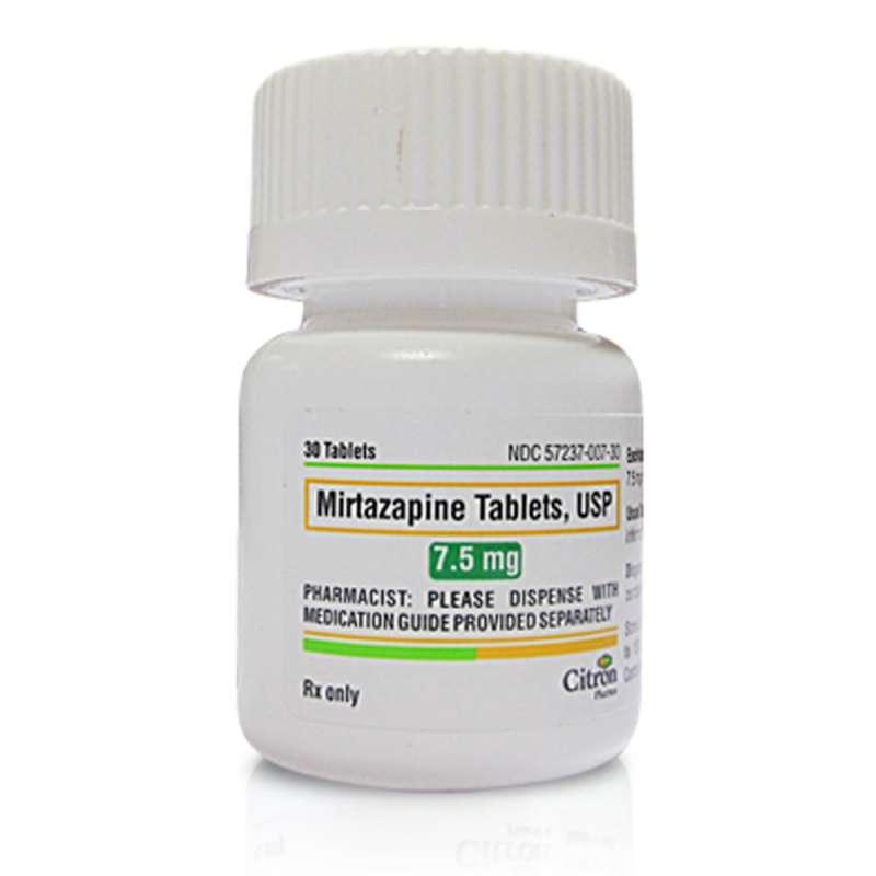 موارد مصرف و عوارض داروی ضد افسردگی رمرون (میرتازاپین)