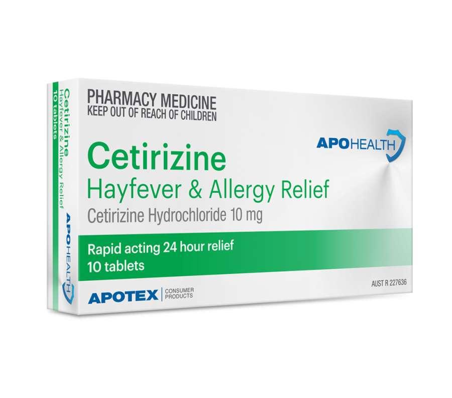 آشنایی با موارد مصرف و عوارض جانبی قرص سیتریزین