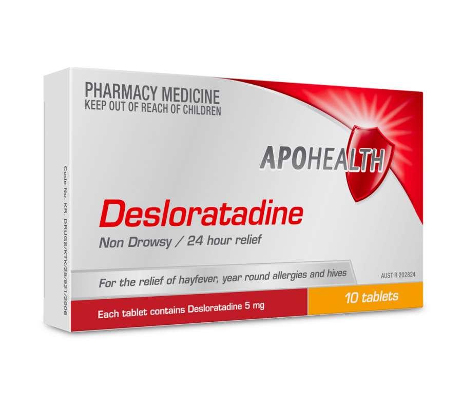 موارد مصرف و عوارض داروی ضد حساسیت دسلوراتادین