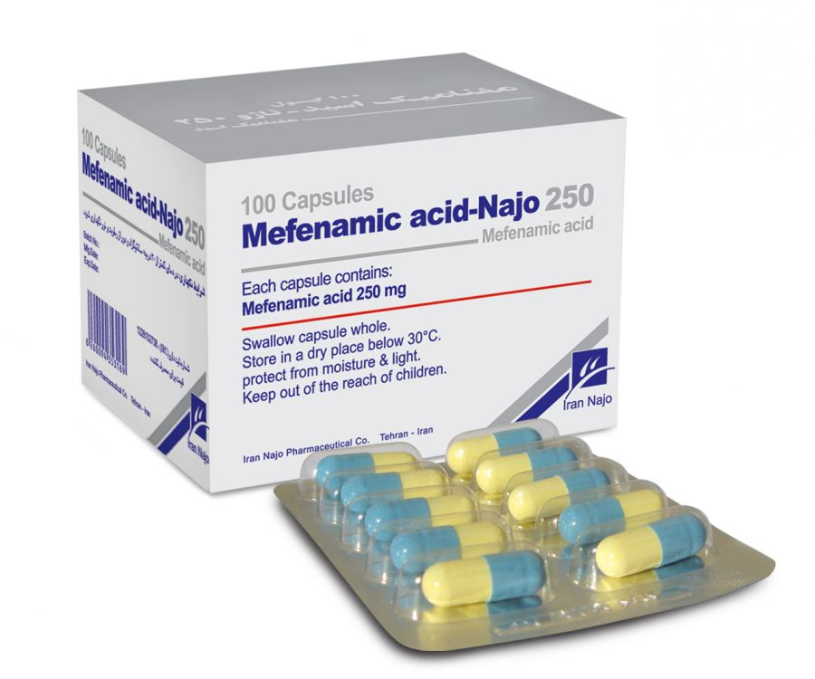 مصرف مفنامیک اسید برای چیست؟