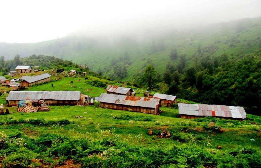 مناطق دیدنی و زیبای ماسال در گیلان
