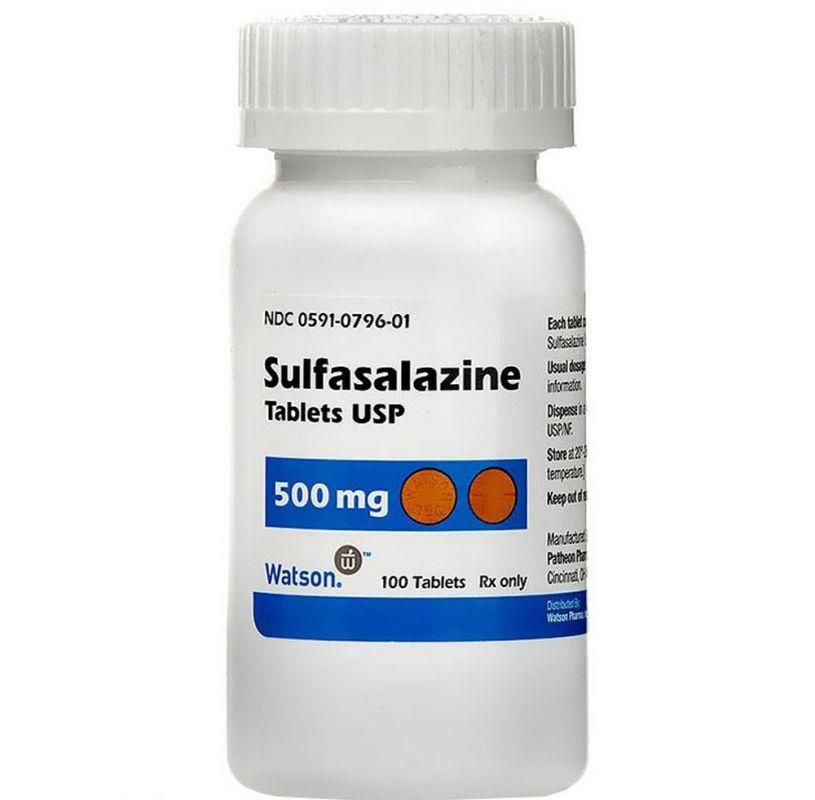 موارد مصرف و عوارض قرص سولفاسالازین