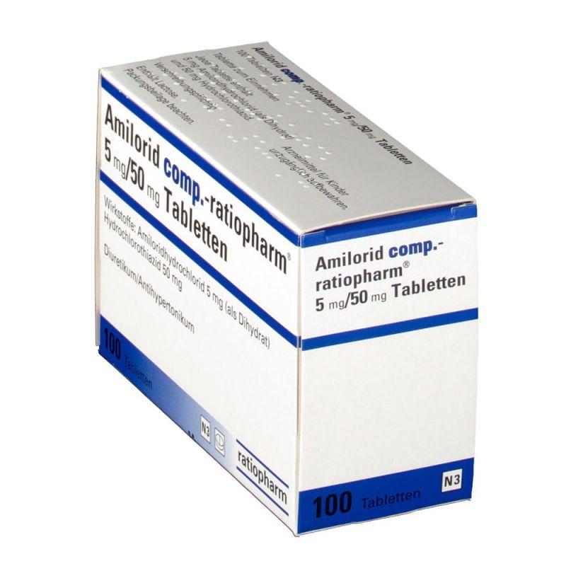 آمیلورید اچ چیست و در چه موادری تجویز می شود؟