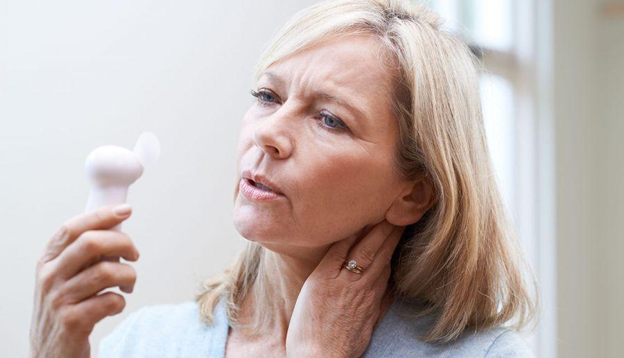 درمان یائسگی با داروی جدید (پاوی نتانت Pavinetant )