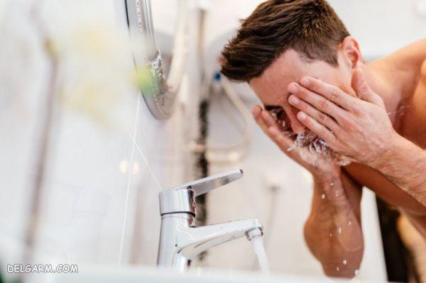 شستن صورت