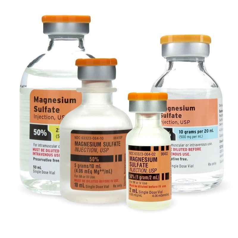 آشنایی با موارد مصرف منیزیوم سولفات