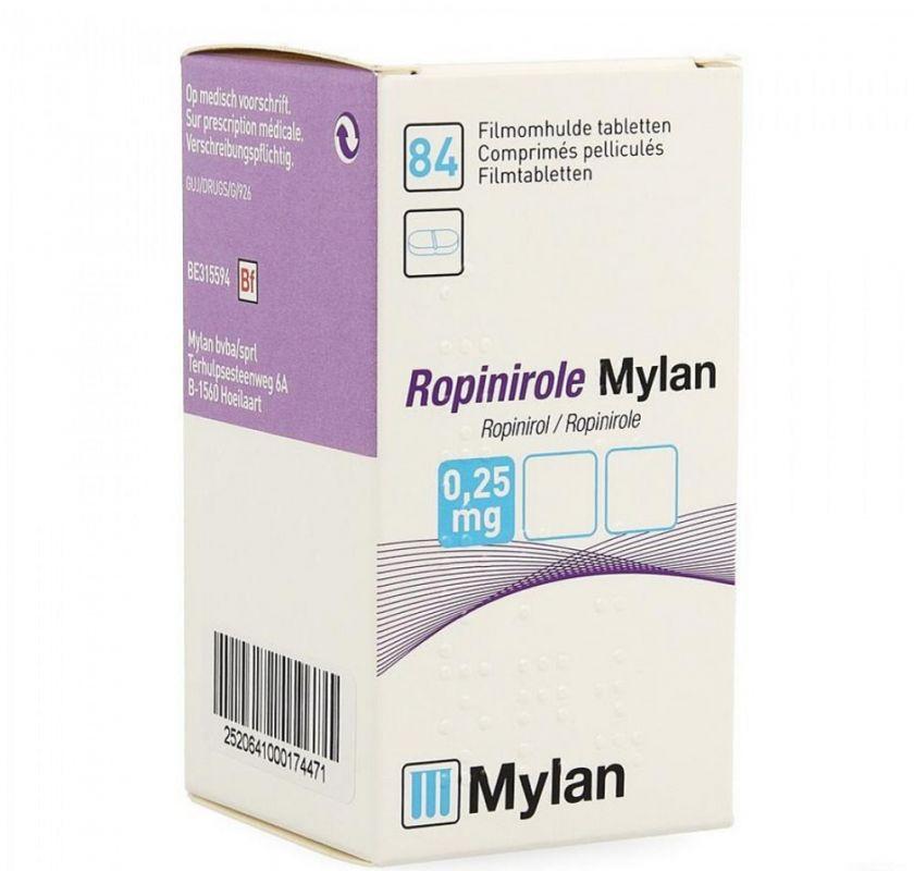 همه چیز در مورد داروی روپینیرول و موارد مصرف آن
