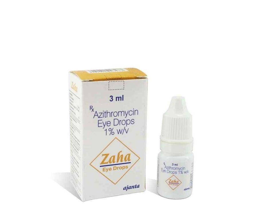 اطلاعات دارویی قطره چشمی آزیترومایسین
