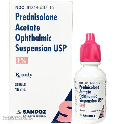 Prednisolone eye drop