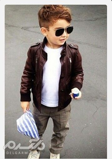 مدل موی قارچی بچه گانه پسر