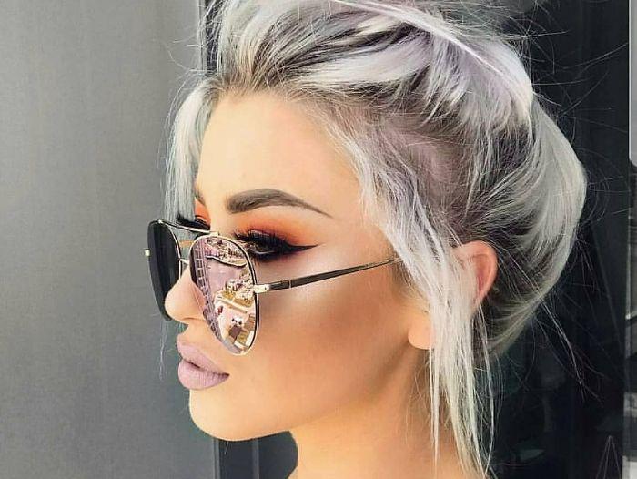 انواع مدل رنگ مو زنانه 2018 سری 5 مجلسی که امروزه نیز مد هستند