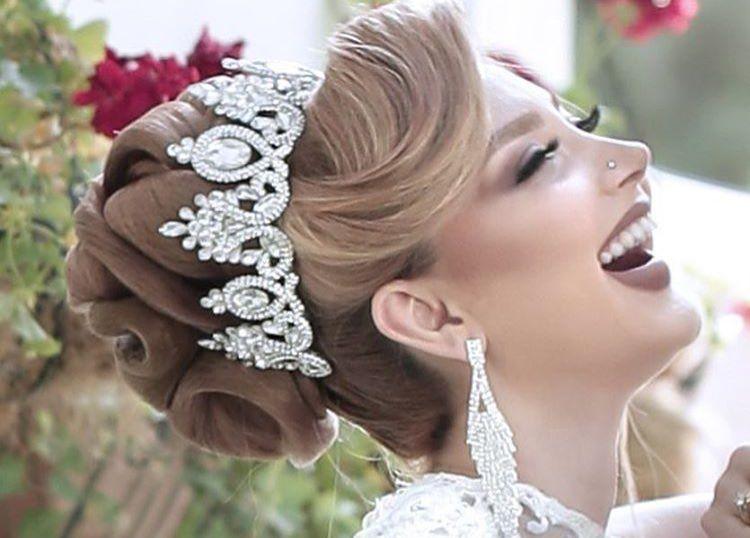 مدل ارایش عروس امروزی مخصوص برای عروس خانم ها با سلیقه