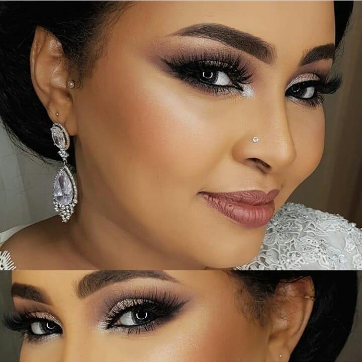 تصاویری از آرایش عروس ۲۰۱۹ با طراحی زیبا و جذاب