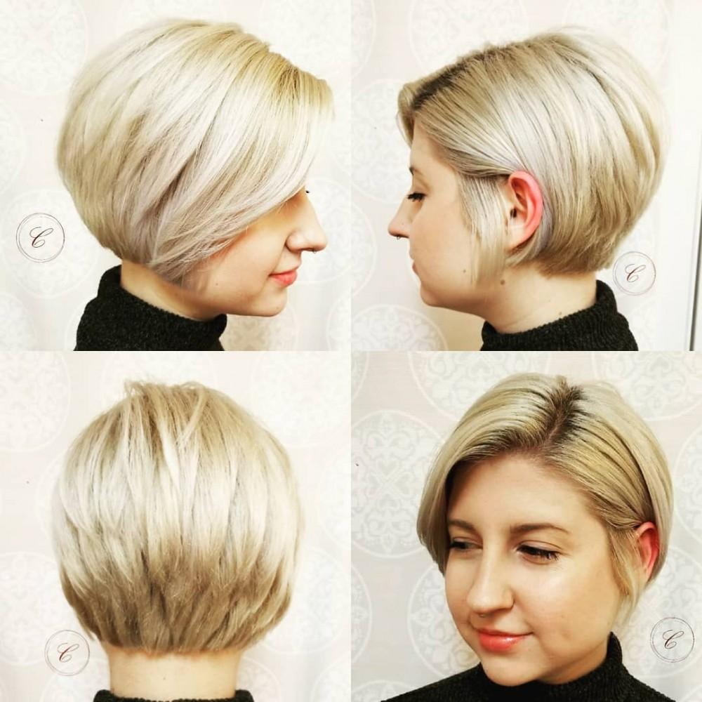 گالری مدل موی کوتاه زنانه ۲۰۱۹ مجلسی و اسپرت