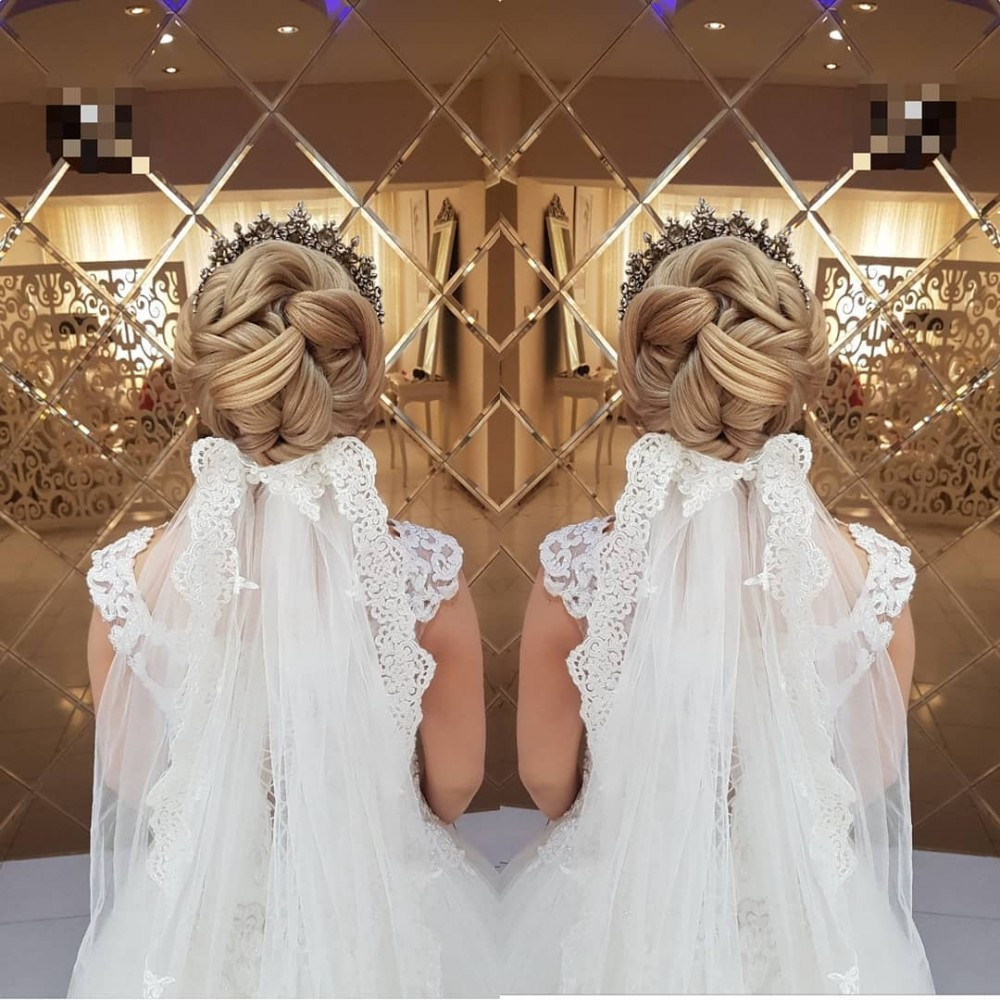 شینیون و مدل مو عروس ۲۰۱۹ جدید