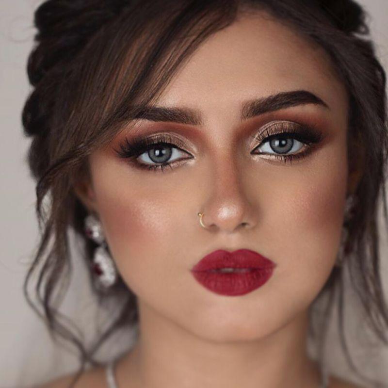 مدل آرایش صورت عروس جدید که غوغا میکند