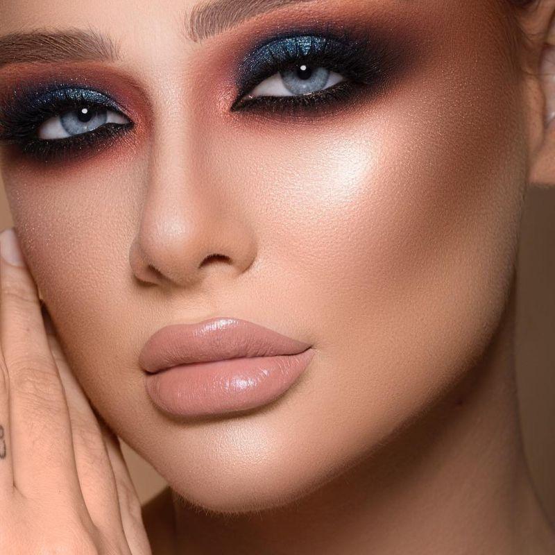 مدل آرایش صورت عروس ۲۰۱۹ با جدیدترین متدهای آرایشی روز دنیا