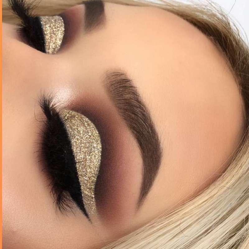 آلبومی از مدل سایه چشم عربی مخصوص خانم هایی که آرایش غلیظ میکنند