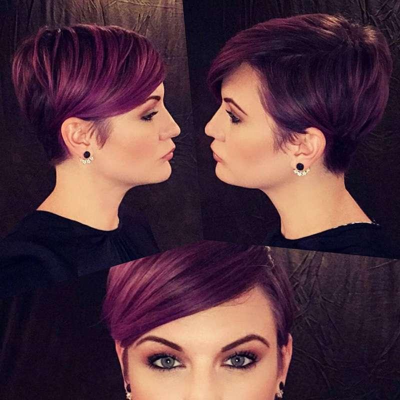 مو کوتاه دخترانه شیک مخصوص دختر خانم های با تیپ های خفن