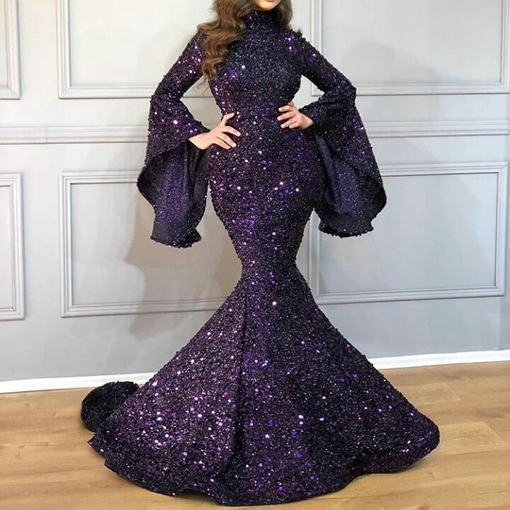 مدل لباس مجلسی ۲۰۱۹ خفن و لاکچری که غوغا به پا میکند + تصویر